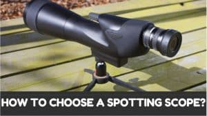 How to Choose a Spotting Scope? (Part 3 of Spotting Scope Guide)